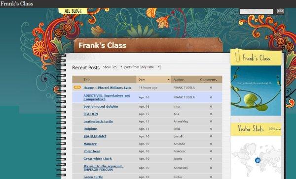 Frank's Class